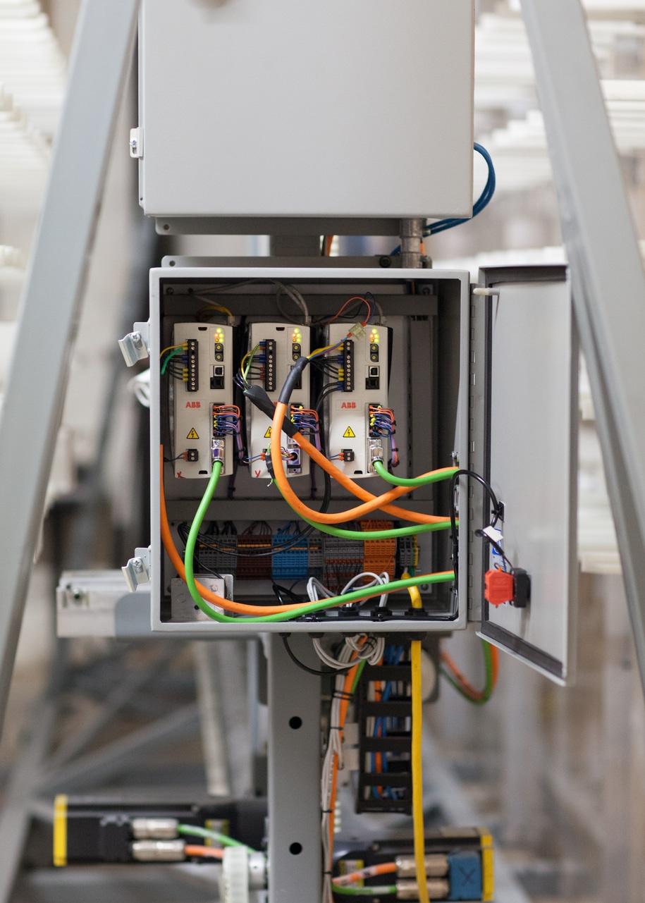 Controller box for Voodoo Robotics ASRS robot
