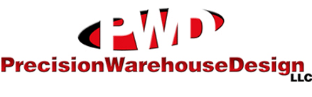 Precision Warehouse Design Material Handling Logo
