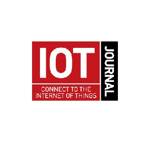 IoT Journal Logo in red and black