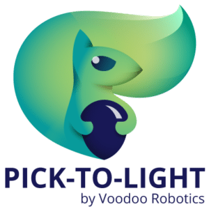 Pick-to-Light by Voodoo Robotics Logo