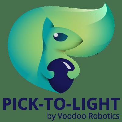 Pick-to-Light by Voodoo Robotics Logo