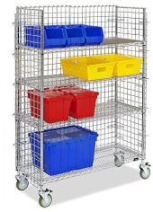 security cart for order picking