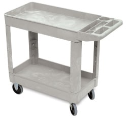 lightweight resin service cart also known as a utility cart