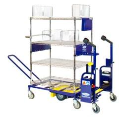 picking cart hybrid - ridable minimalist cart
