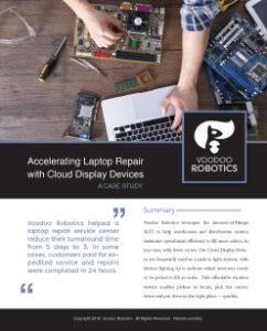 voodoo robotics case study for repair service center