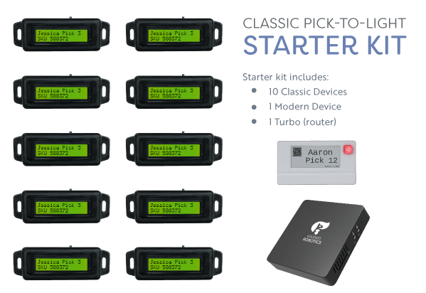 Classic Starter Kit with 10 Devices and a Turbo